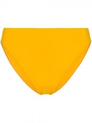 Плавки бикини Heather Beth Richards. Цвет: желтый
