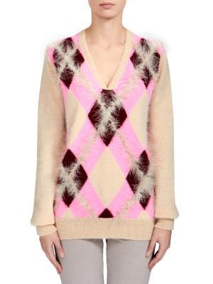 Пуловер VERONIQUE BRANQUINHO. Цвет: бежевый