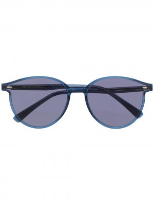 Солнцезащитные очки Slo NC2 Boston-style Gentle Monster. Цвет: синий