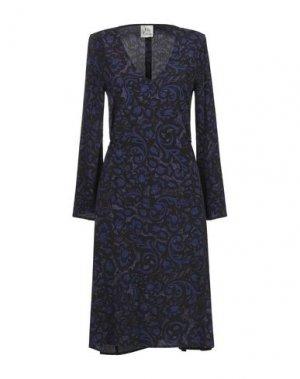 Короткое платье ATTIC AND BARN. Цвет: темно-фиолетовый