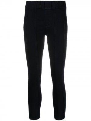 Укороченные джинсы скинни J Brand. Цвет: синий