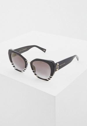 Очки солнцезащитные Marc Jacobs 313/G/S 7LL. Цвет: черный