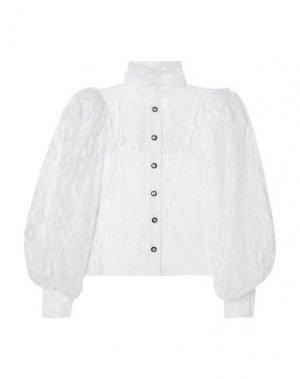 Pубашка CHRISTOPHER KANE. Цвет: белый