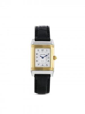 Наручные часы Reverso-Duetto pre-owned 20 мм 2000-х годов Jaeger-LeCoultre. Цвет: серебристый