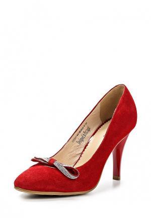 Туфли Clotilde. Цвет: красный