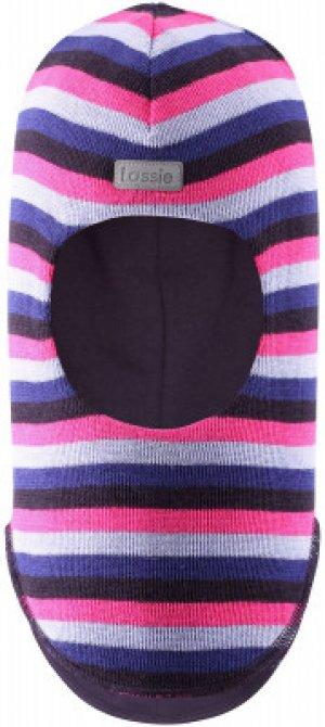 Шапка для девочек Riko, размер 52 LASSIE. Цвет: розовый
