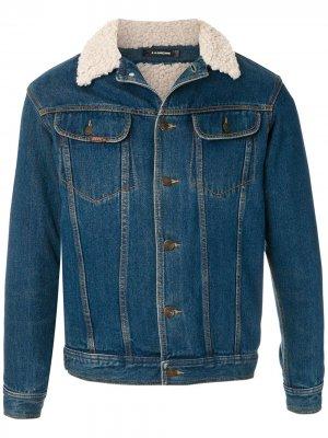Джинсовая куртка Upcycling À La Garçonne. Цвет: синий