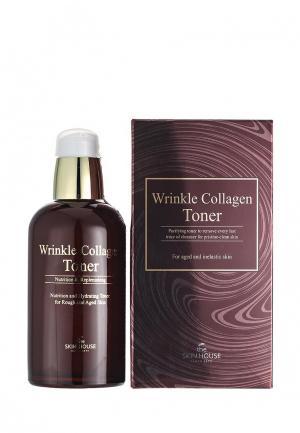 Тоник для лица The Skin House с коллагеном Wrinkle collagen 130мл