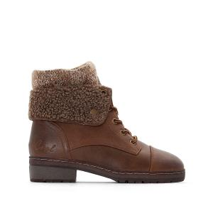 Ботинки на шнуровке Bring COOLWAY. Цвет: каштан