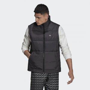 Жилет Padded Stand-Up Collar Originals adidas. Цвет: черный