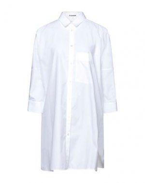 Pубашка JIL SANDER. Цвет: белый
