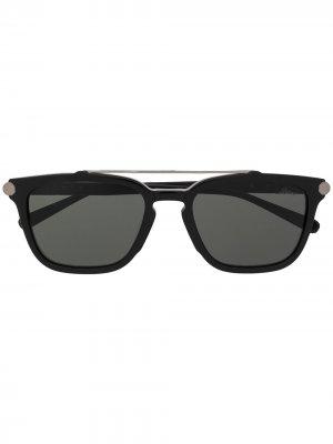 Солнцезащитные очки 001 Brioni. Цвет: черный