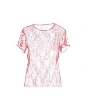 Блузка PAOLO PECORA. Цвет: розовый