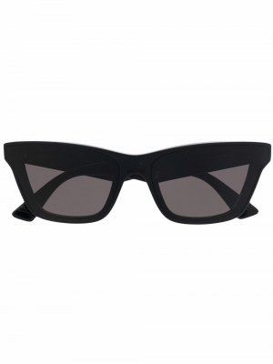 Classic frame sunglasses Bottega Veneta Eyewear. Цвет: черный