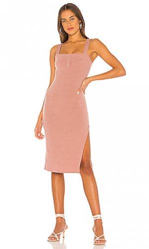 Платье baldwin Privacy Please. Цвет: розовый