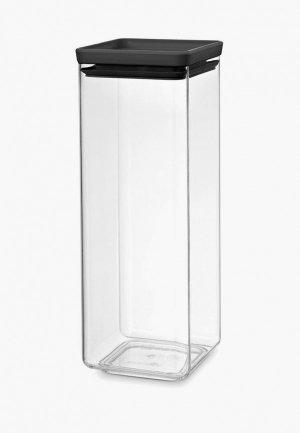 Контейнер для хранения продуктов Brabantia Tasty+, 2,5л. Цвет: прозрачный