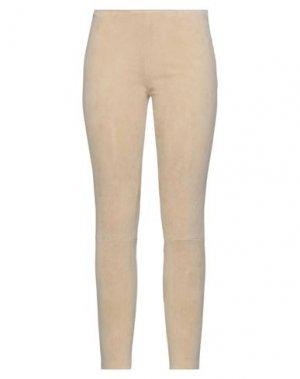 Повседневные брюки JITROIS. Цвет: песочный