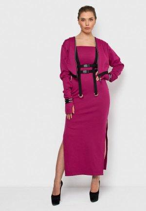 Комплект Malaeva ROSE. Цвет: розовый