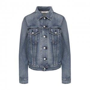 Джинсовая куртка Moussy. Цвет: синий
