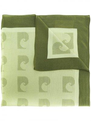 Платок 1970-х годов с принтом Pierre Cardin Pre-Owned. Цвет: зеленый