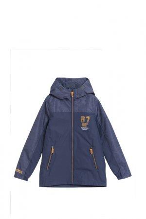 Куртка LEMON. Цвет: синий