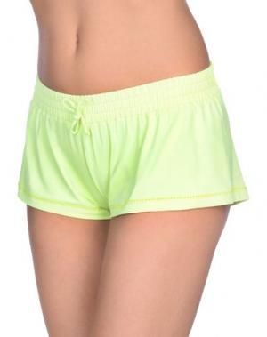 Пляжные брюки и шорты FAANJ. Цвет: желтый