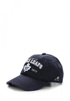 Бейсболка Atributika & Club™ NHL Toronto Maple Leafs. Цвет: синий