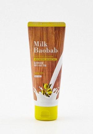 Маска для волос Milk Baobab HAIR MOISTURE CREAM PACK, 150 мл. Цвет: прозрачный
