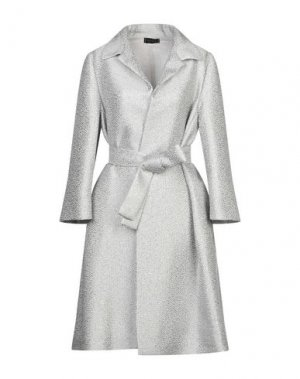Легкое пальто BOTONDI MILANO. Цвет: светло-серый