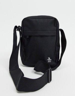 Черная сумка через плечо s-Черный Original Penguin