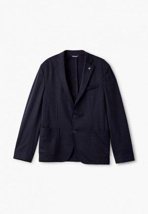 Пиджак Henderson. Цвет: синий