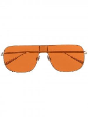 Солнцезащитные очки-авиаторы AMBUSH. Цвет: серебристый