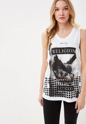 Майка Religion. Цвет: белый
