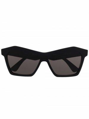Солнцезащитные очки BV1093S Bottega Veneta Eyewear. Цвет: черный