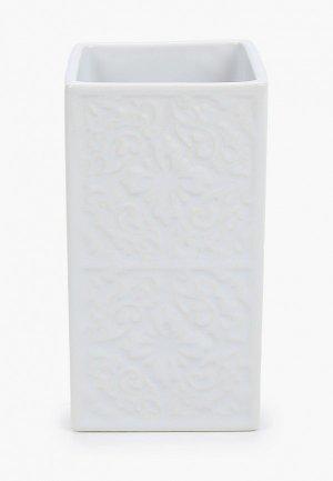 Стакан для зубных щеток Wenko. Цвет: белый