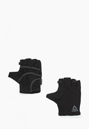 Перчатки для фитнеса Reebok SE U WORKOUT GLOVE. Цвет: черный