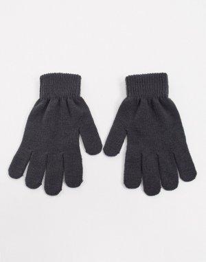 Перчатки из переработанных материалов -Серый Boardmans