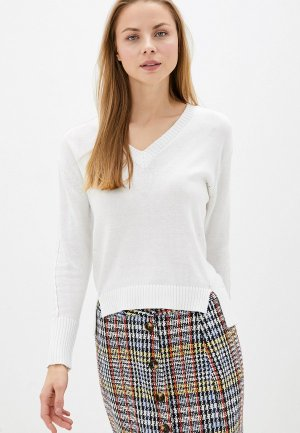 Пуловер Vilatte D39.446. Цвет: белый