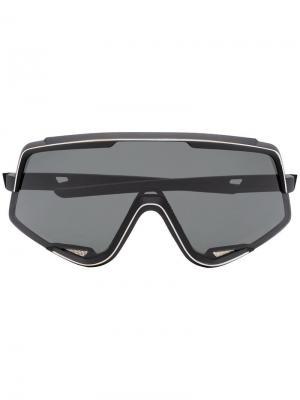 Солнцезащитные очки glendale 100% Eyewear. Цвет: черный