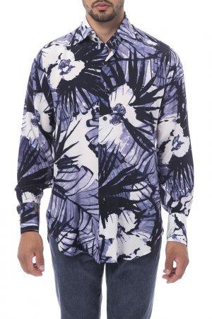 Shirt Billionaire. Цвет: blue, grey