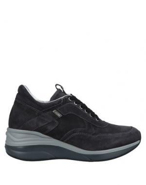 Низкие кеды и кроссовки CESARE PACIOTTI 4US. Цвет: стальной серый