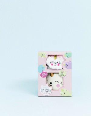 Комплект из носков и кружки в виде котенка-единорога Fizz-Мульти Fizz Creations