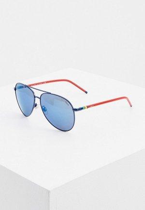 Очки солнцезащитные Polo Ralph Lauren PH3131 910255. Цвет: синий