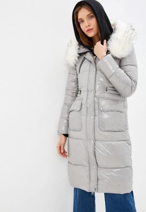 Куртка утепленная Allegri. Цвет: серый