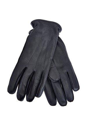 Перчатки ручной работы из кожи оленя MORESCHI. Цвет: синий