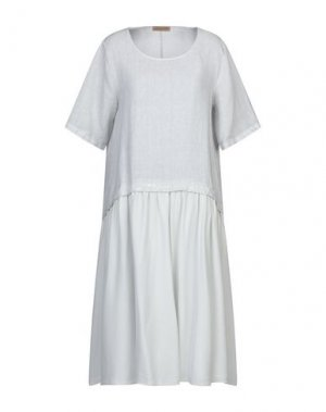 Платье до колена CLUB VOLTAIRE. Цвет: светло-серый