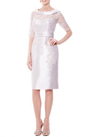 Коктейльное платье DYNASTY COCKTAIL. Цвет: silver