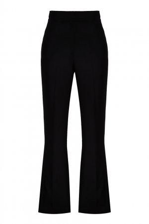 Черные брюки клеш с завязками Loewe. Цвет: черный
