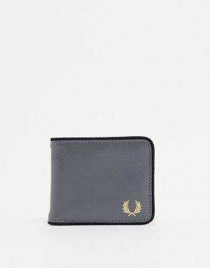Серый бумажник Fred Perry