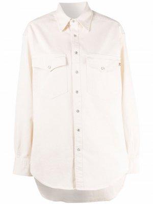 Рубашка с длинными рукавами Semicouture. Цвет: нейтральные цвета